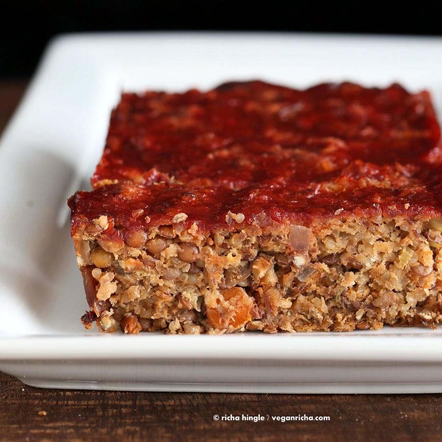 Vegan Lentil Quinoa Loaf | Vegan Richa