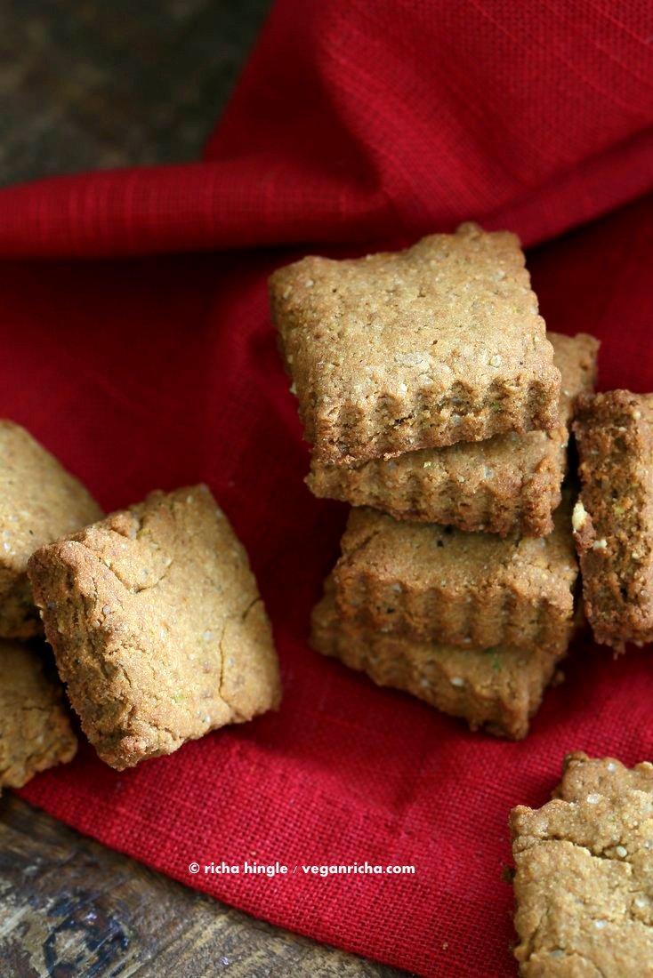 Vegan Gluten free Shortbread Cookies | Vegan Richa