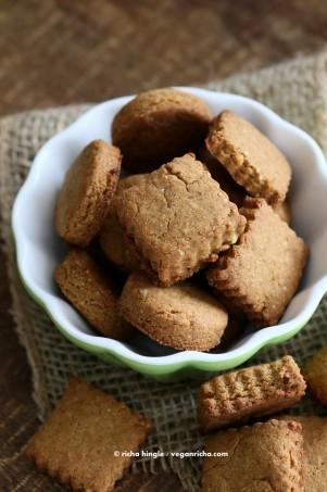 Vegan Gluten free Shortbread Cookies | Vegan Richa #glutenfree #veganricha #vegan