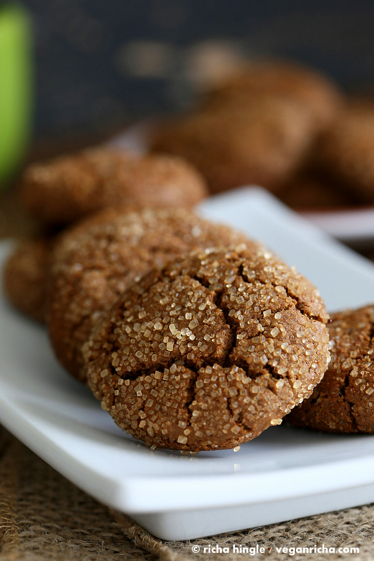 gluten free ginger molasses cookies allergen information free of dairy