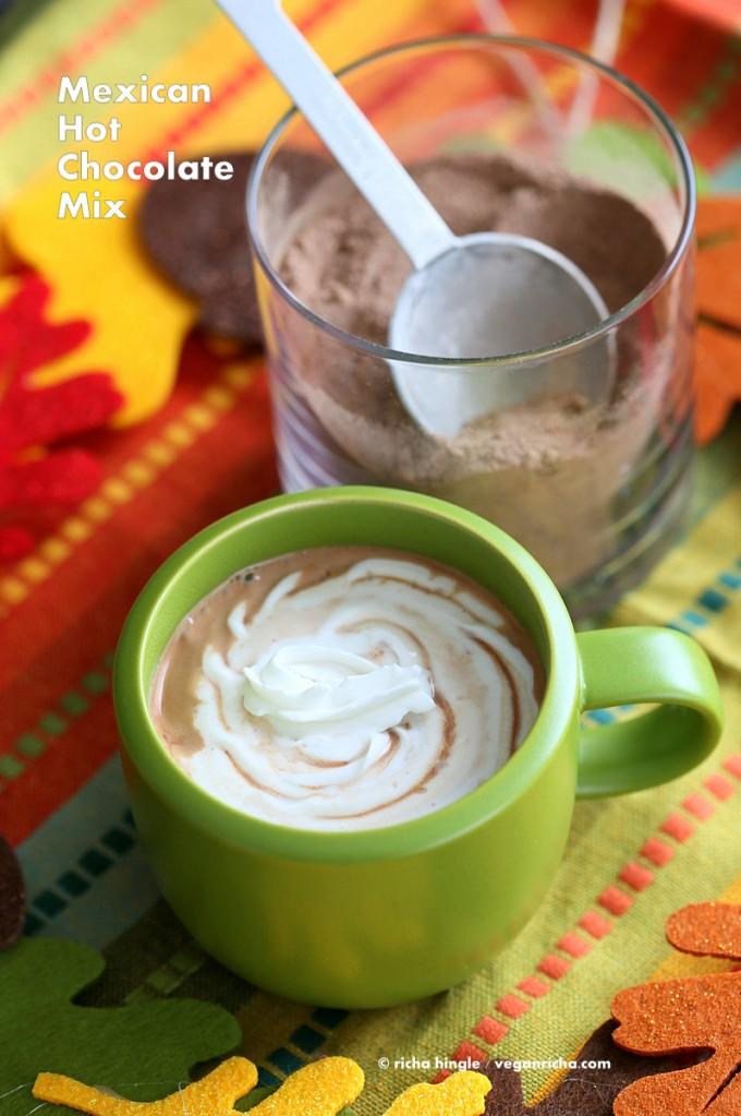 Mexican Hot Chocolate Mix   Vegan Richa