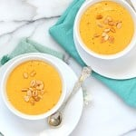 Vegan Carrot Peanut Soup