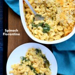 Vegan Spinach florentine | Vegan Richa