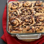 Strawberry Chocolate Cinnamon Rolls | Vegan Richa
