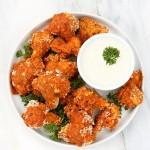 Spicy Cauliflower Bites with Celery Ranch | Vegan richa #glutenfree #veganricha #vegan