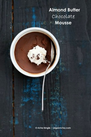 Almond Butter Chocolate Mousse