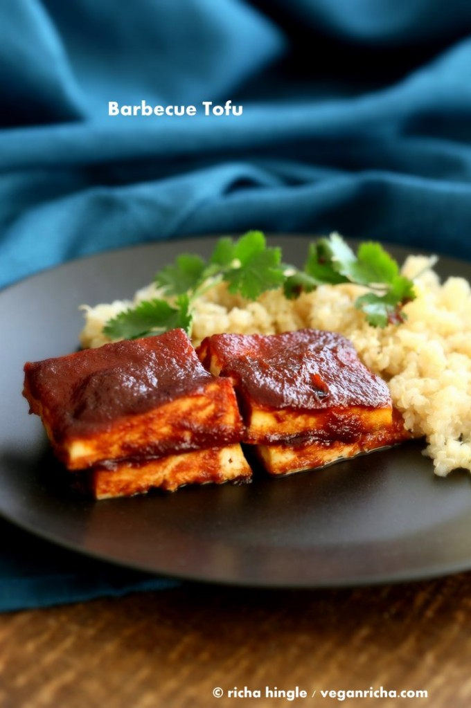 Barbecue Tofu   Vegan Richa