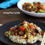 Kung Pao Lentils |Vegan Richa