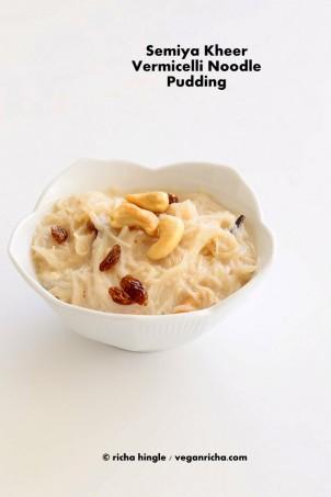 Vermicelli Pudding – Seviyan Kheer