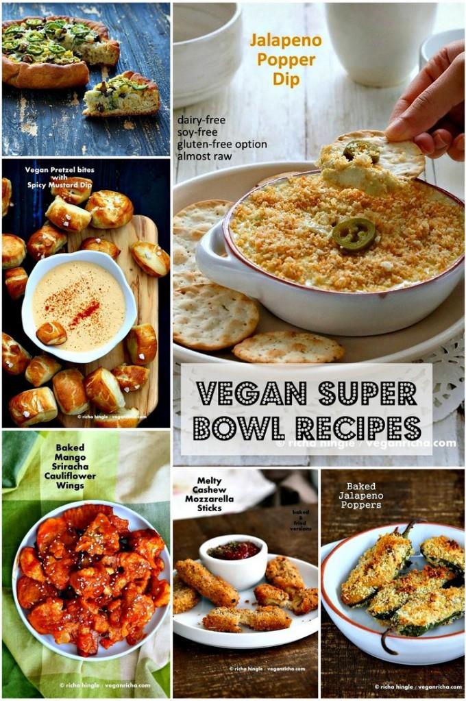 Healthy Vegan Super bowl Recipes   Vegan Richa