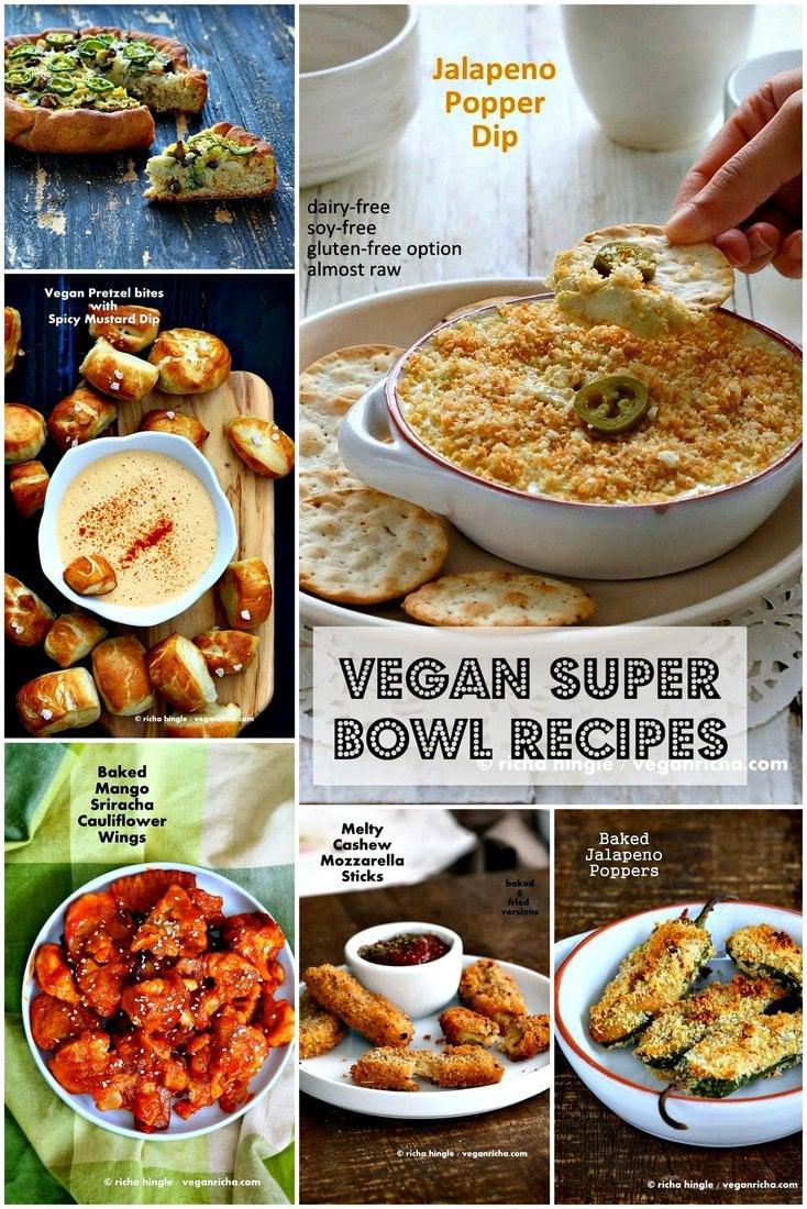 Healthy Vegan Super bowl Recipes | Vegan Richa