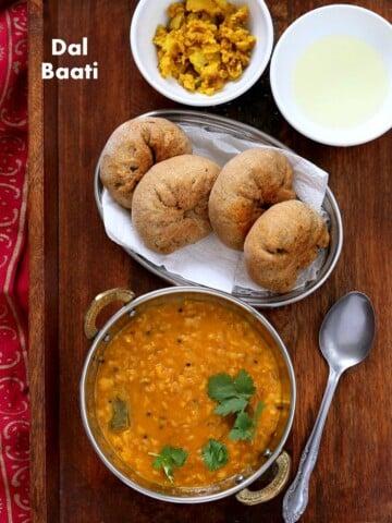Dal Baati | Vegan Richa