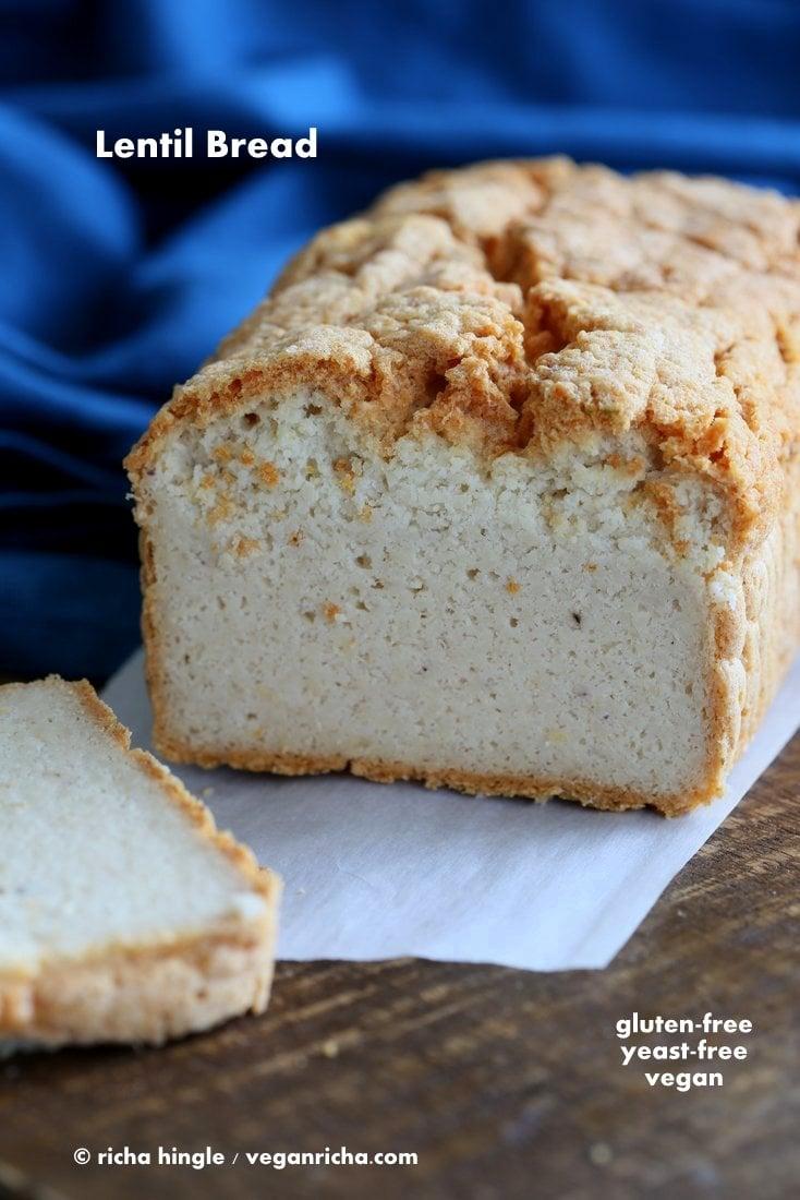 Lentil Bread gluten free | Vegan Richa