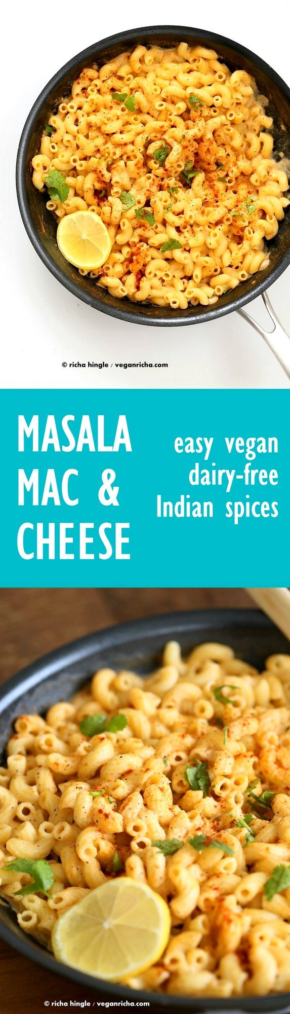 Masala Mac and Cheese with Indian Spices Vegan Recipe - Vegan Richa
