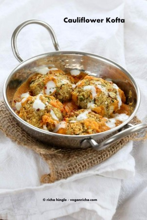 Cauliflower Kofta Curry | Vegan Richa #glutenfree #veganricha #vegan