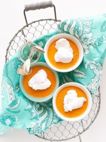 Carrot cake Pudding   Vegan Richa