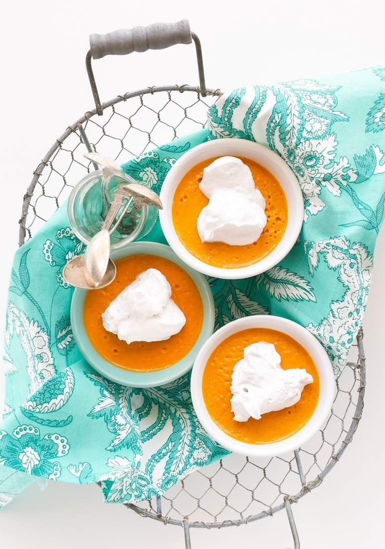 Carrot cake Pudding | Vegan Richa