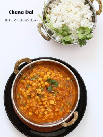Easy Chana Dal - Split Chickpea soup| Vegan Richa #glutenfree #veganricha #vegan