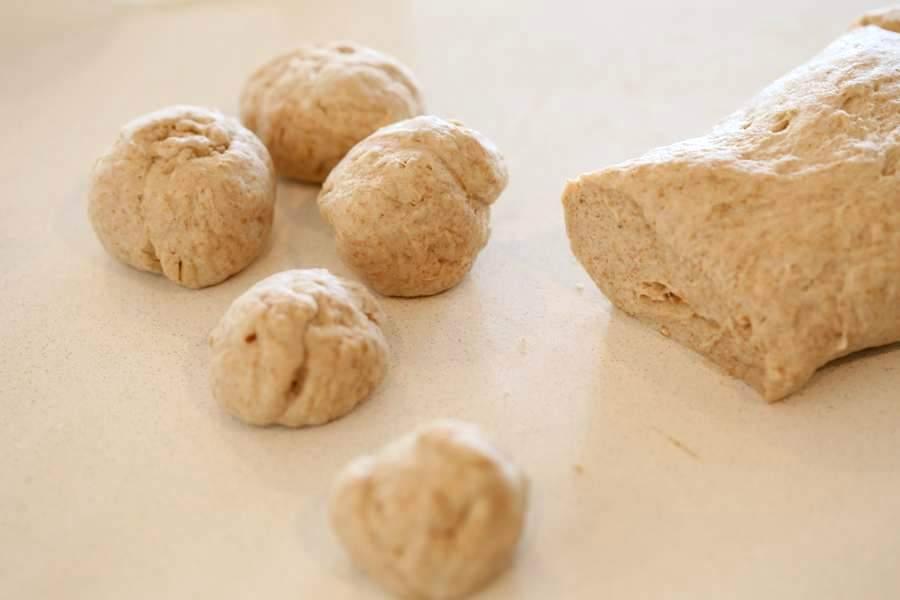 vegan yeast free flatbread  Vegan Richa