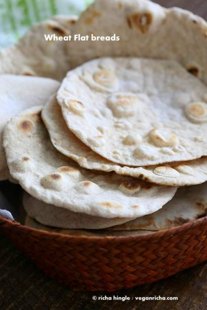 Vegan Yeast free Flatbread and Pita bread