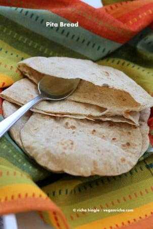 Vegan Pita Bread Recipe