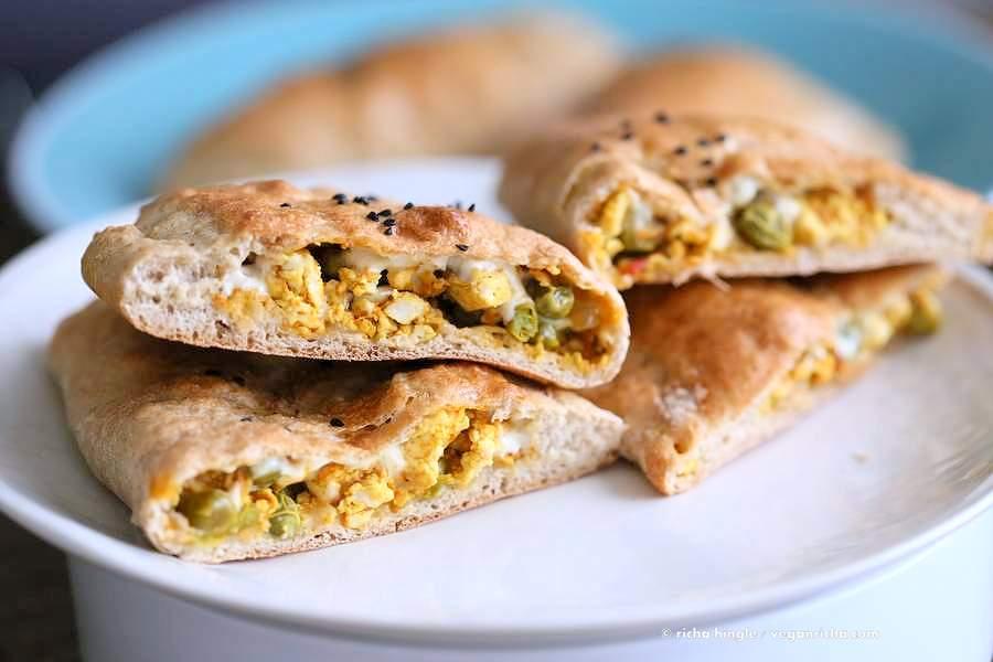 Vegan Naan Calzones | Vegan Richa