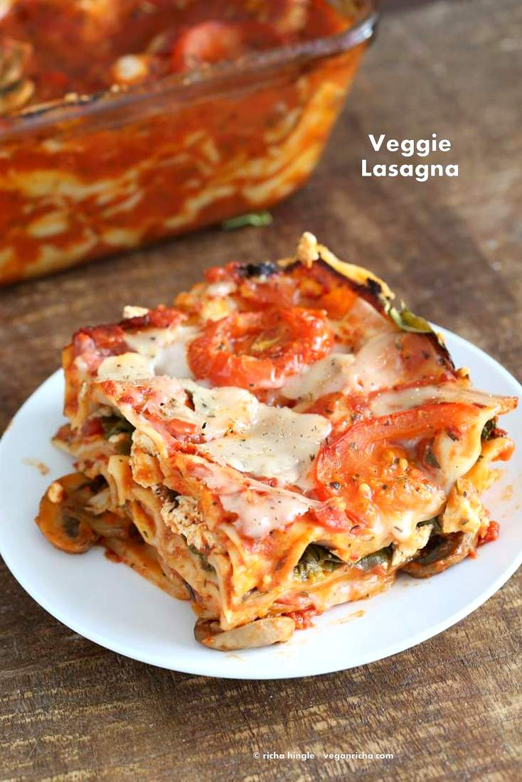 Vegan veggie lasagna for 2 vegan richa vegan veggie lasagna for 2 forumfinder