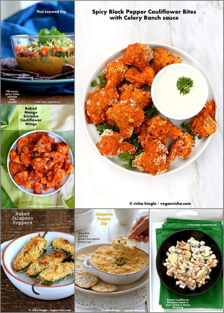 Vegan Father's Day Appetizer Recipes | Vegan Richa