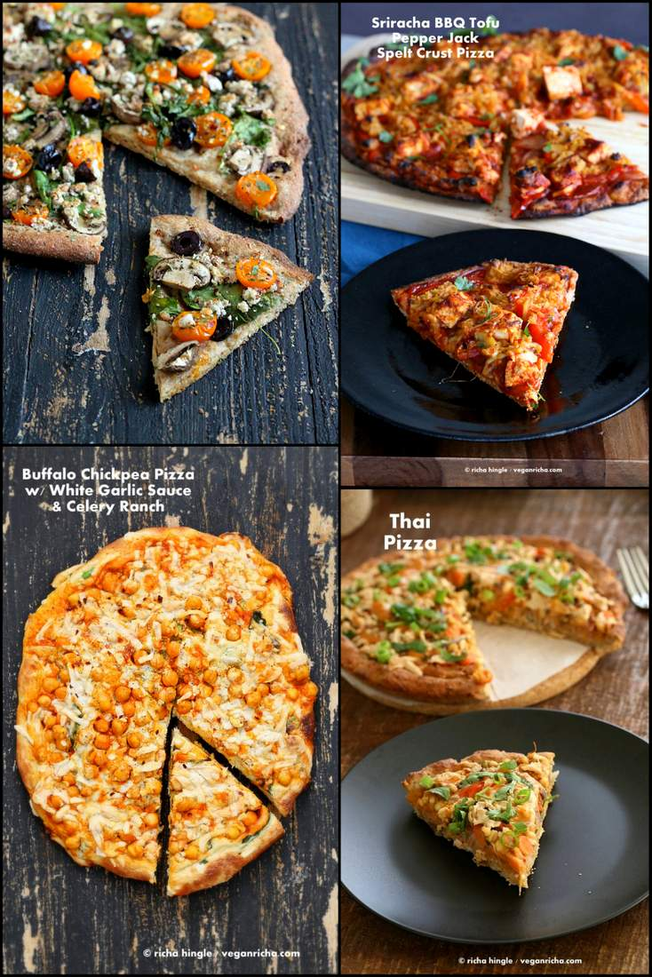 Vegan Father's Day Pizza Recipes | Vegan Richa