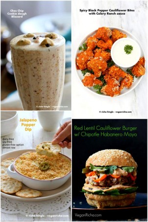 Vegan Father's Day Recipes | Vegan Richa