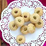 Nankhatai - Pistachio Cardamom Cookie