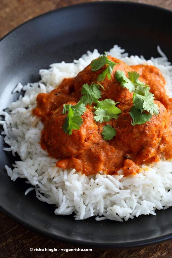 Cabbage Kofta Curry from Vegan Richa's Indian Kitchen