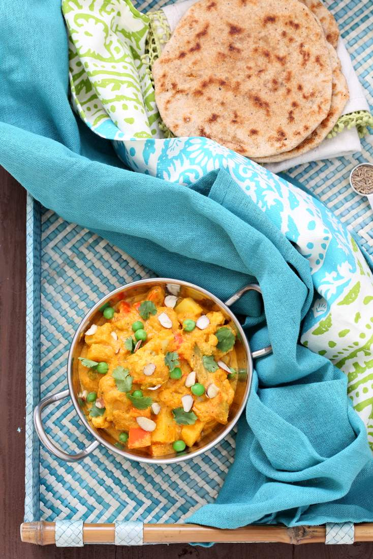 Navratan Korma from Vegan Richa's Indian Kitchen