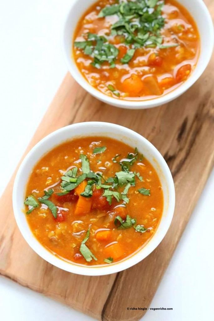 Moroccan Lentil Soup Recipe from The Abundance Diet ...