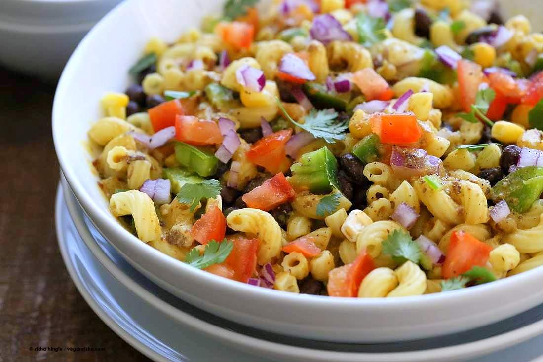 Southwestern Pasta Salad | Vegan Richa