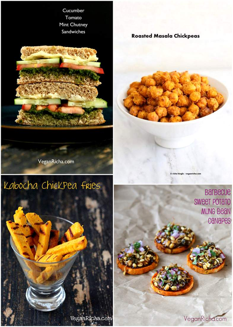 Vegan July 4th Snack Recipes #vegan #july4 #snack #recipes