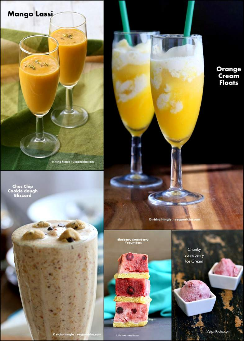 Vegan July 4th Dessert and Drinks Recipes #vegan #glutenfree #july4 #dessert