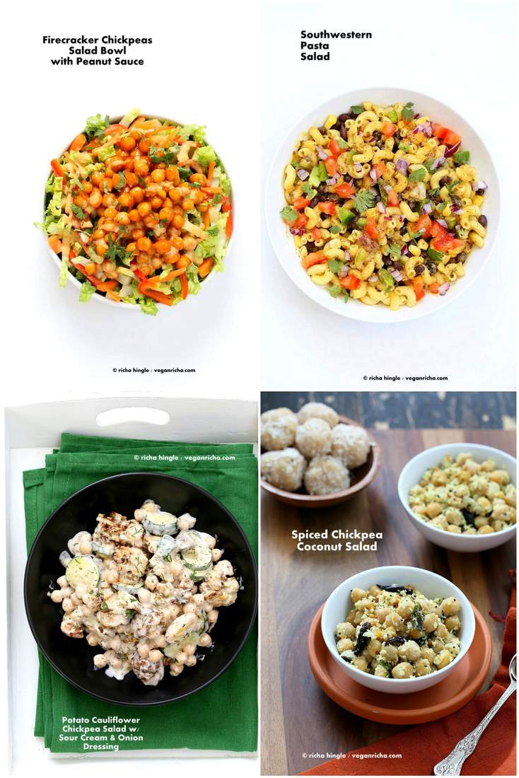Labor Day Vegan Recipes - Salads