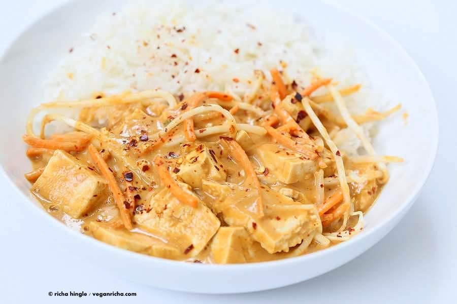 Cashew Ginger Sauce Tofu