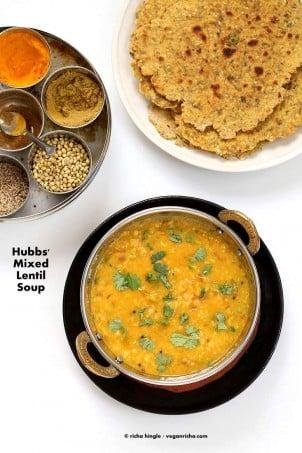 Dal Fry – Spiced Indian Lentil soup