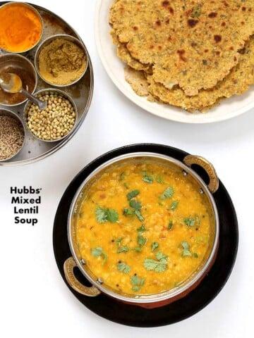 Dal Fry - Spiced Indian Lentil soup | Vegan Richa #vegan #glutenfree #soyfree #Indian #lentils #veganricha