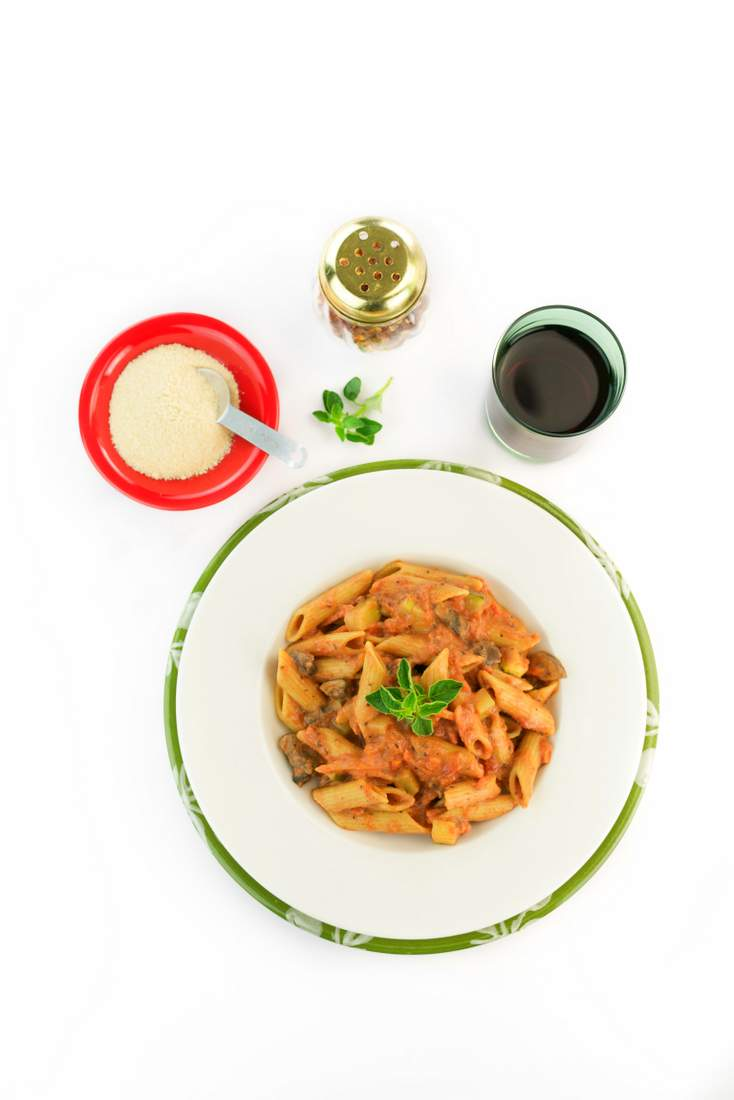One Pot Vegan Vodka Sauce Pasta