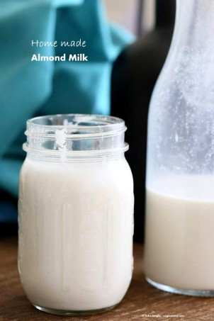 How to make Almond Milk | Vegan Richa #glutenfree #veganricha #vegan