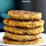 Carrot Zucchini Chickpea Fritters Vegan Recipe | Vegan Richa
