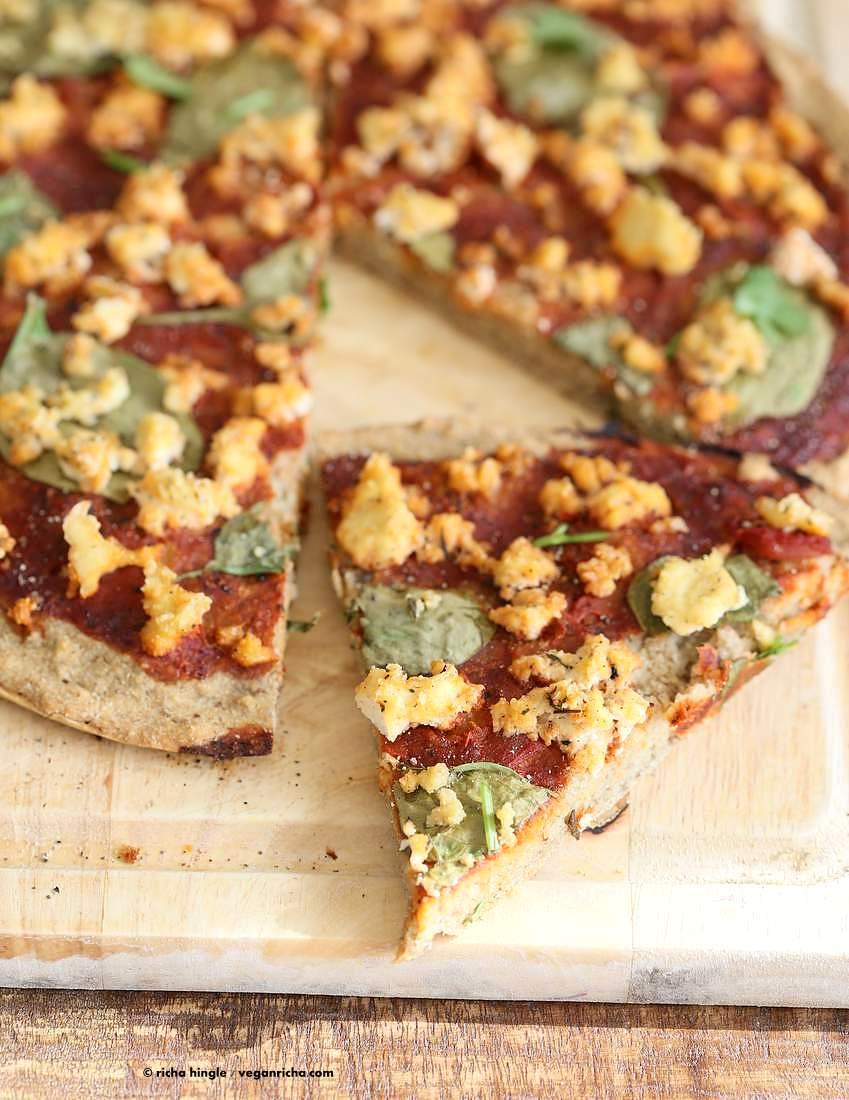Gluten-Free Yeast-Raised Pizza Crust Recipe — Dishmaps