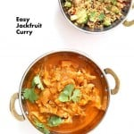 Easy Jackfruit Curry | Vegan Richa #glutenfree #veganricha #vegan