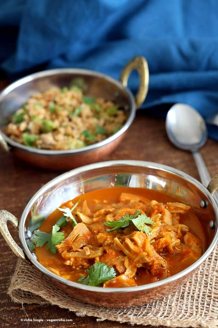 Easy Jackfruit Curry | Vegan Richa