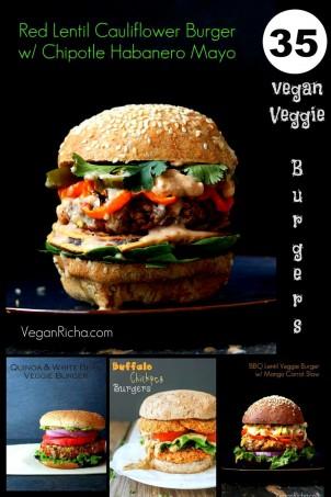 35 Vegan Veggie Burger Recipes