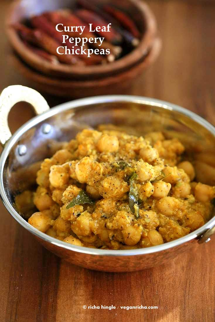 Curry leaf pepper chickpeas chickpeas in coconut pepper curry leaf curry leaf pepper chickpeas chickpeas in a spicy south indian pepper coconut and curry forumfinder Gallery