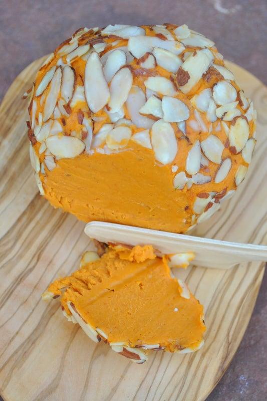 Vegan Cheddar Cheeseball